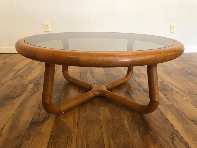 Uldum Mobelfabrik Teak & Glass Coffee Table by Vintagefurnitureetc