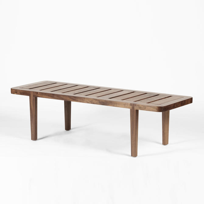 Allendale Bench by MostlyModernDesign
