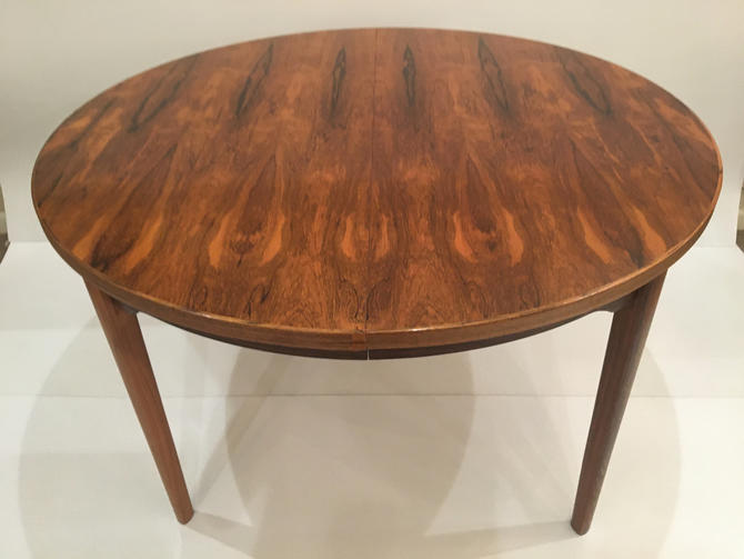 Mid Century Rosewood Dining table  origin Norway by ClassicAntiquesPHL