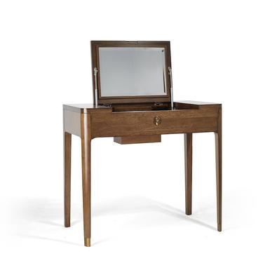 Walnut Mid Century Mini table, Dressing table, Mid Century Dresser, Mid Century Vanity  - Bella Collection - Ekais by Ekais
