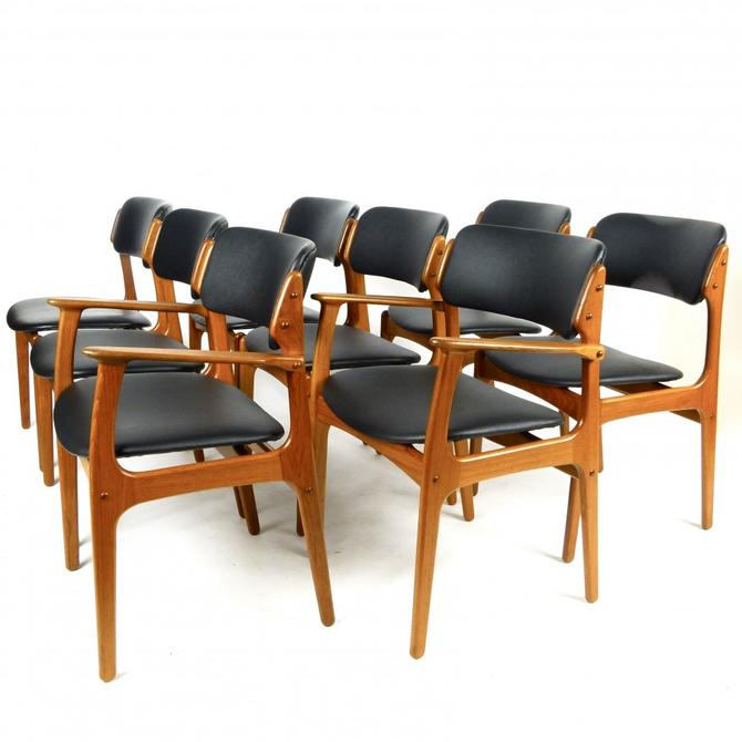 Set of 8 Eric Buch Chairs