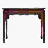 Chinese Huali Rosewood Scroll Motif Apron Side Altar Table cs5151S