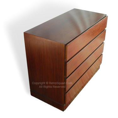 Danish Modern Short 36 Rosewood Dresser By Arne Wahl Iversen for Vinde / Nightstands Storage Chest MCM Mid Century Eames by RetroSquad