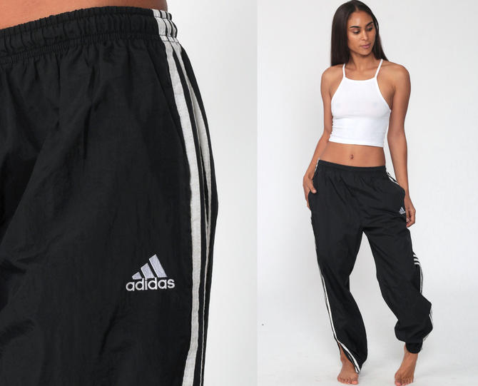 petróleo crudo Seguir Disfraz  ADIDAS Track Pants 80s Black Joggers Baggy Track Suit Warm Up Suit Athletic  Pants 1980s Sports Vintage Sportswear Small Medium by ShopExile from Shop  Exile of Los Angeles, CA | ATTIC