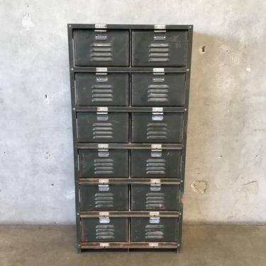Vintage Worley & Co. Lockers