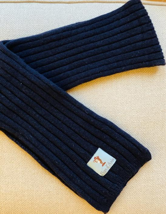 Wool Knit Scarf by Papo d'Anjo