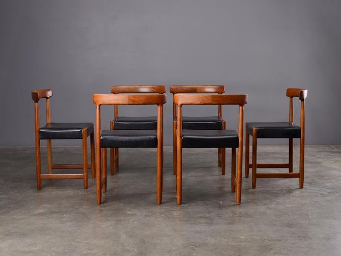 6 Ingmar Relling Mid Century Dining Chairs Danish Modern Teak by MadsenModern