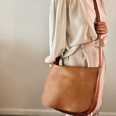 Oversized Leather Satchel