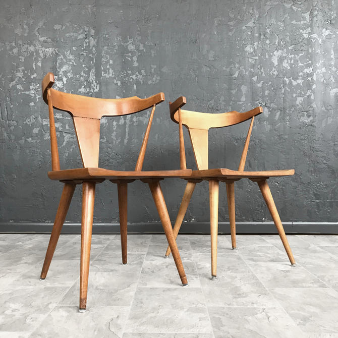 Pair of Mid-Century Project Chairs