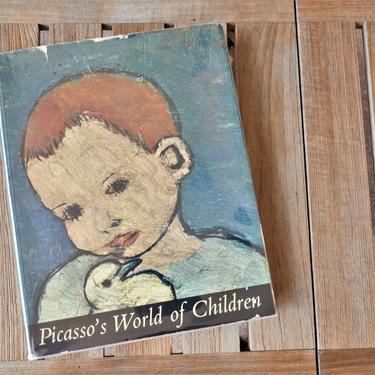 Picasso's World of Childeren - First Edition Hardcover Art Book with Original Dust Jacket - 1965 by SourcedModern