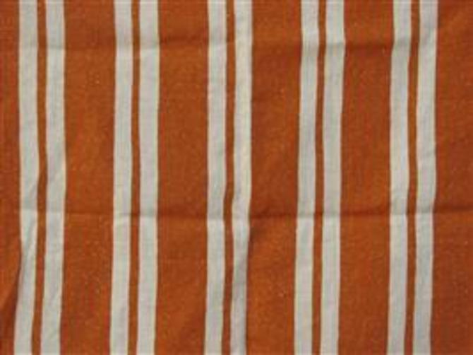 Straight Stripe in Orange