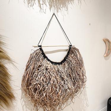 Kuta Organic Seagrass Woven Wall Hanging by TheWickedBoheme