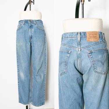 """1990s Levi's 550 JEANS Cotton Denim Relaxed Fit 33"""" x 29"""" by dejavintageboutique"""