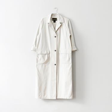 vintage cotton canvas duster coat, size M by ImprovGoods