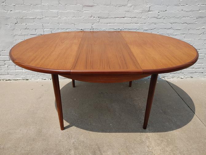 Mid Century Modern G Plan Teak Dining Table by VintageVaultTulsa
