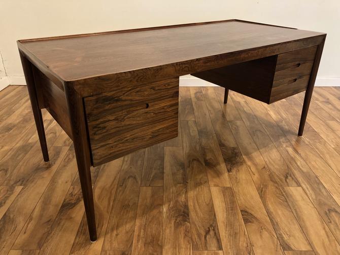 Erik Riisage Hansen Danish Rosewood Desk