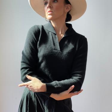 Vintage Jil Sander Merino Wool Pullover Sweater by ShopLaTierra