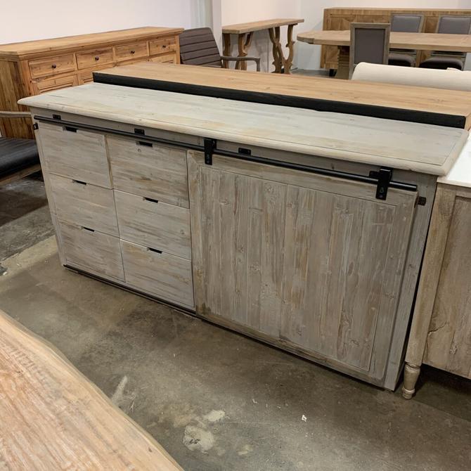 Atelier Barn Door cabinet A0102