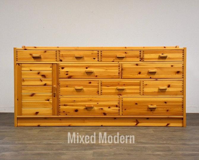 Idé Møbler Solid Pine Danish Dresser by mixedmodern1