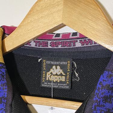 (M) Kappa Black Track Jacket 020121