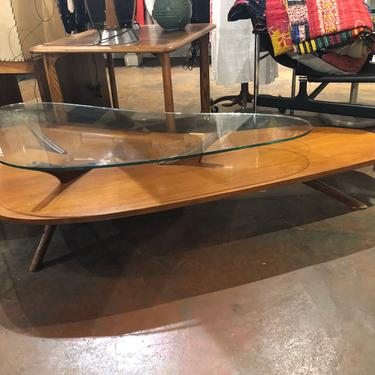 Mid Century Modern Biomorphic Coffee Table by bcdrygoods