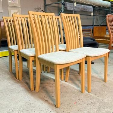 Set Of 6 Skovby #66 Dining Chairs