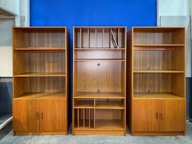 Teak Book Cases 3 Available