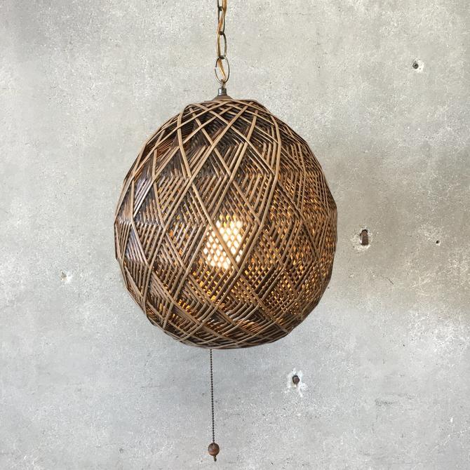 1970's Swag Lamp