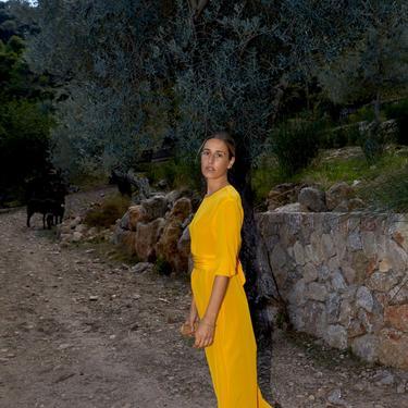 Citric Orange Ava Dress