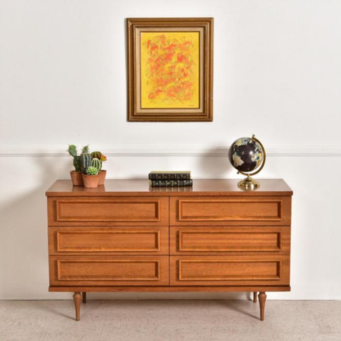 6 Drawer Vintage Dresser