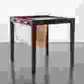 Danish Magazine Rack Table