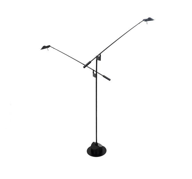 Kovacs robert sonneman black double feather floor lamp by kovacs robert sonneman black double feather floor lamp by hearthsidehome aloadofball Images