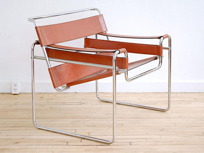 Cognac Leather Wassily Chair