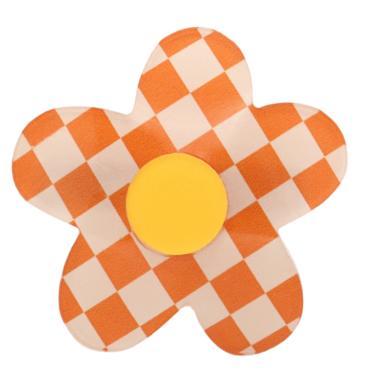 Dconstruct Daisy Hair Clip - Orange