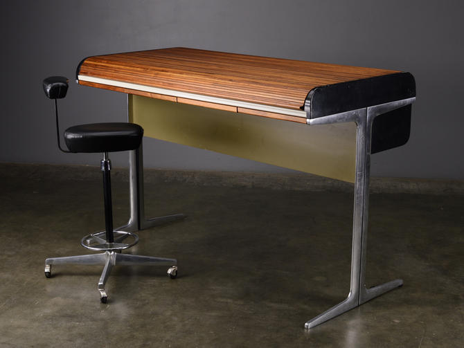 Rare George Nelson Standing Desk Action Office Mid Century Modern by MadsenModern