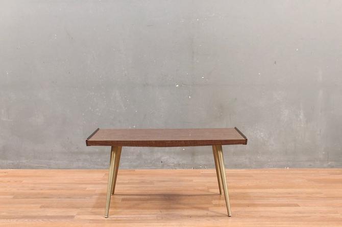 Compact Mid Century Splayed-Leg Coffee Table