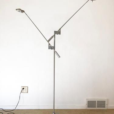 Robert Sonneman George Kovacs Feather double floor lamp mid century by TripodModern