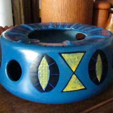 Vintage Rare Anita Nylund Candle Bowl/Warming Dish