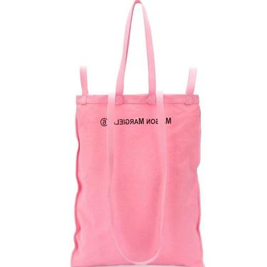 MM6 pink tote