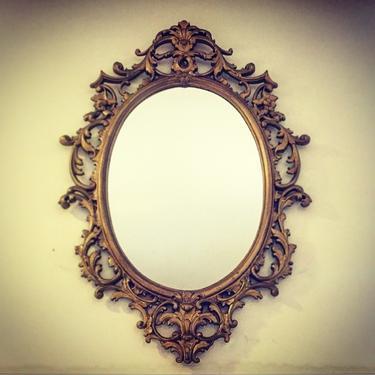 Vintage MCM Sirocco Mirror