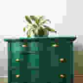 Green Serpentine Dresser
