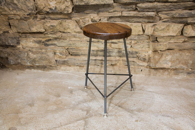 Free Shipping Reclaimed Wood Bar Stools With Industrial