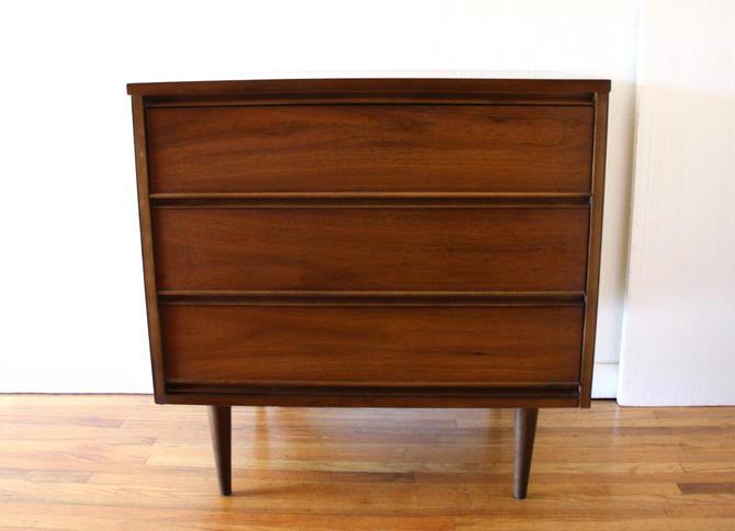Mid Century Modern Bachelor Chest Dresser by Dixie