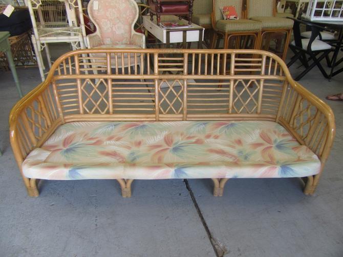 Brighton Style Bamboo Sofa
