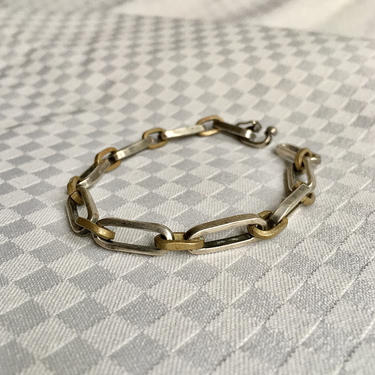 """Vintage Sterling Silver Taxco Bracelet - Solid and Heavy! 7.75"""" 16g by BellewoodDesignGoods"""