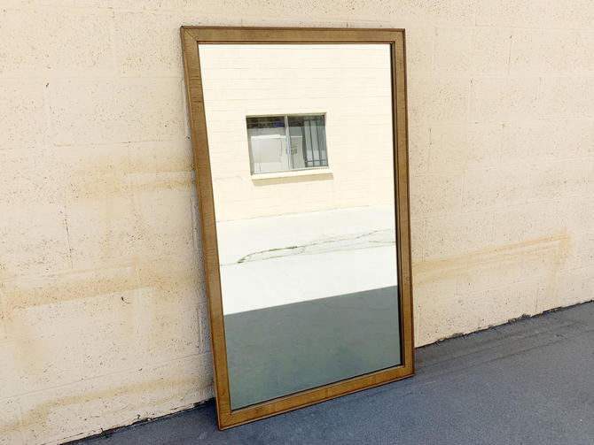 Local Pickup - Mid Century Drexel Mirror, Large Wall or Leaning Mirror