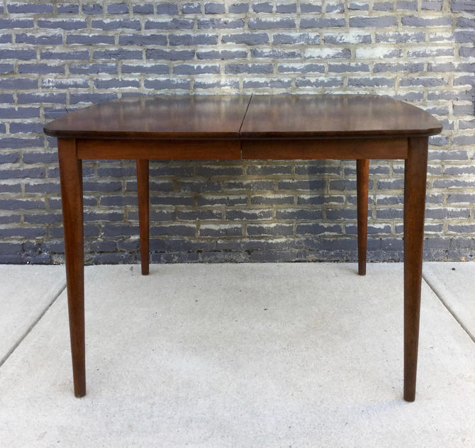 Walnut Expandable Dining Table