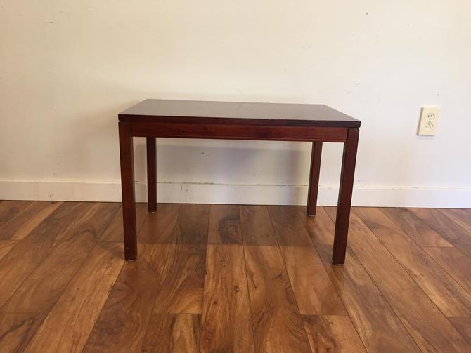 Heggen of Norway Rosewood Side Table by Vintagefurnitureetc