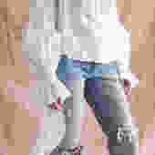 Constanza Top White