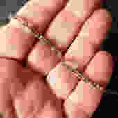 10 K Gold Amethyst Mexican Bracelet by LegendaryBeast